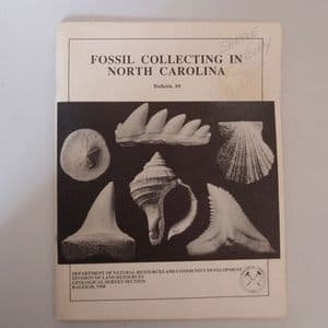 FOSSIL COLLECTING IN NORTH CAROLINA  (Second hand copy)