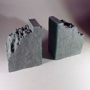 LAKE DISTRICT SLATE BOOKENDS (SECOND HAND IN VERY GOOD CONDITION)  - Coniston, Cumbria
