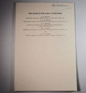 THE SEARCH FOR EARLY TETRAPODS (SECOND HAND COPY)