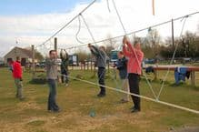 Low Ropes Bridge Building - Two Hours